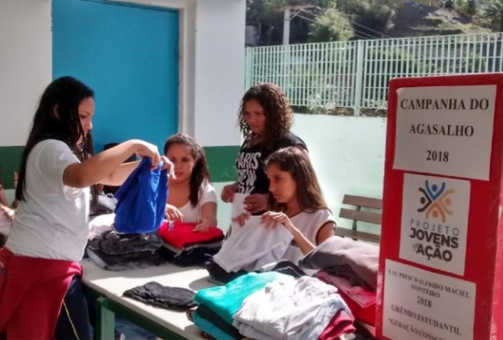 Projeto Jovens em Ação - Foto: Divulgação/PMSS