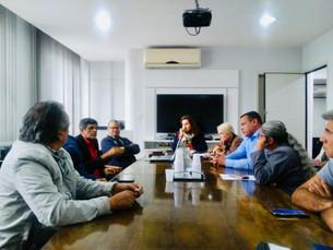 Ilhabela participa de reunião na Superintendência da Pesca em São Paulo