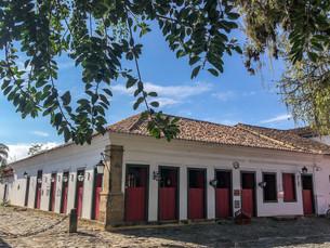Casarão histórico de Paraty é recuperado após incêndio