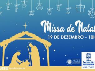 Hospital de Clínicas de São Sebastião realiza missa com Cantata de Natal