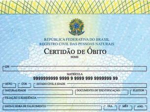 Cartórios dizem que nunca registraram tantas mortes por causas naturais no Brasil como no último mês