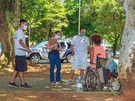 Assistência Social reforça acolhimento à população de rua durante o inverno, em Ubatuba