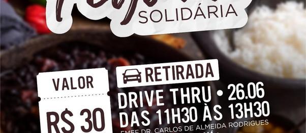 """Sabesp e Fundo Social de Caraguá realizam """"Feijoada Drive Thru"""" para a campanha Inverno Solidário"""