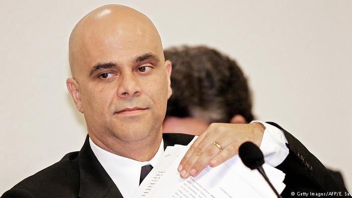 Marcos Valério (em foto de 2005) já cumpre pena por sua participação no mensalão do PT