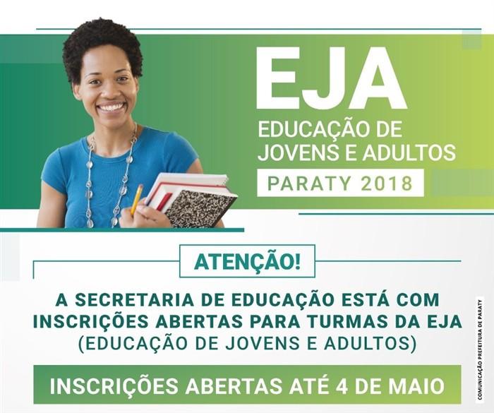EJA em Paraty - Foto: Divulgação/PMP