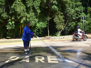 Prefeitura de Ilhabela realiza reparos pós-chuva
