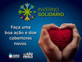 Sabesp promove live no sábado (3) para lançar Campanha Inverno Solidário 2021