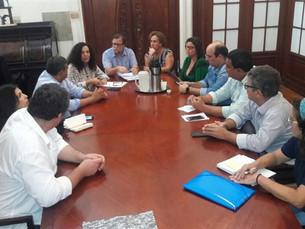 Prefeito em exercício de Paraty, Luciano Vidal, se reuniu com a presidente do IPHAN