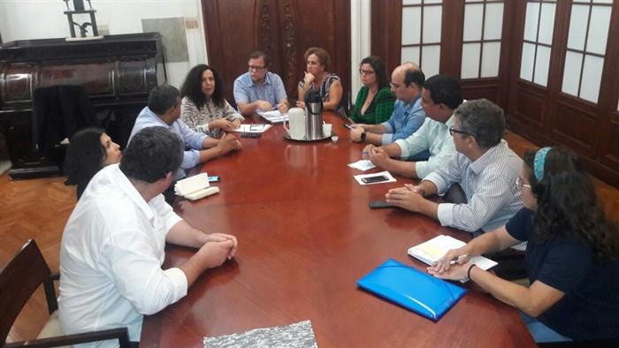 Luciano Vidal se reuniu com a presidente do IPHAN - Foto: Divulgação/PMP
