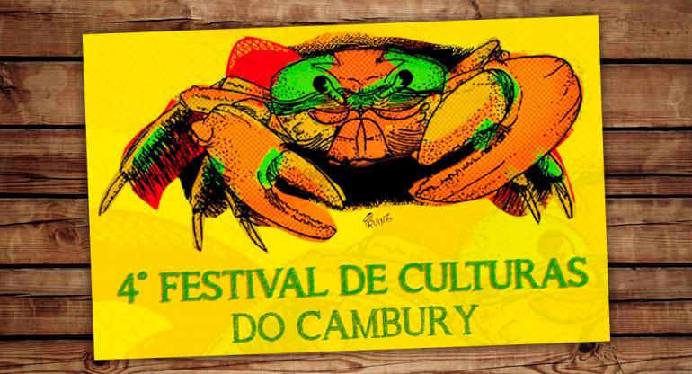 Cartaz Festival de Culturas do Cambury - Divulgação