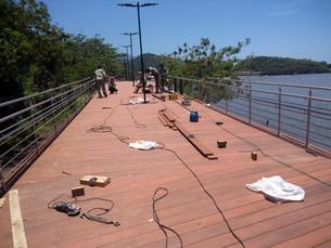 Obras em ritmo acelerado em várias regiões de Ilhabela serão entregues em dezembro e no início de 20