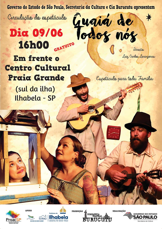 A encenação acontece no sábado (9), às 16h - Foto: Divulgação/PMI