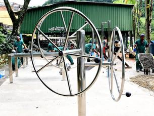 Prefeitura de Angra implanta 12 academias ao ar livre