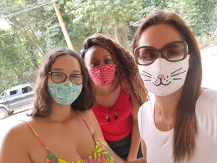 Primeira edição da ação Mesa Solidária foi sucesso na Casanga, em Ubatuba