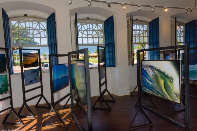 A exposição tem entrada franca - Foto: Marcos Bonello/PMSS