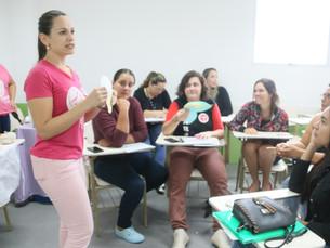 CEAMI e Banco de Leite Humano realizam curso de manejo clínico em aleitamento materno em Caraguá