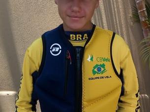 Velejador de Ilhabela integra time brasileiro em campeonato norte-americano e conquista resultados i
