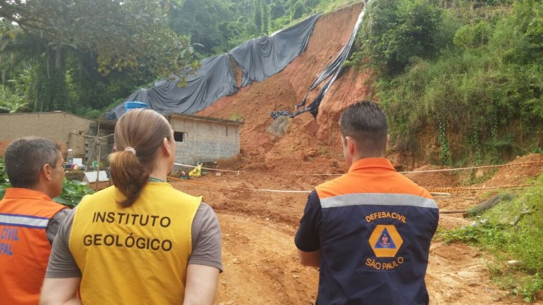 Deslizamento em Ubatuba - Foto: Divulgação/PMU