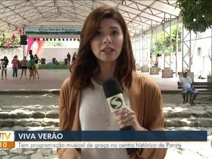 'Viva Verão' traz programação musical gratuita a Paraty