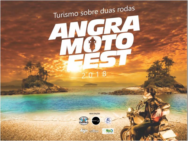 Cartaz Angra Moto Fest