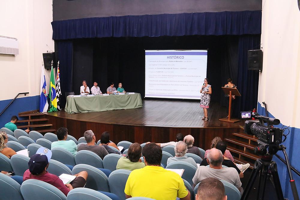Audiência do plano diretor - Foto: Luís Gava/PMC