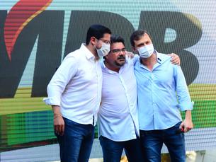 Convenção confirma Aguilar Junior como candidato a prefeito pelo MDB