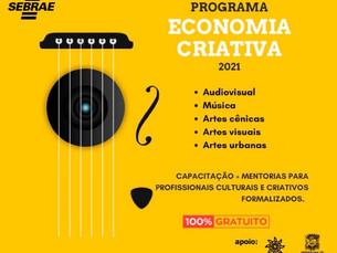 São Sebastião e SEBRAE oferecem cursos de capacitação aos trabalhadores da cultura e de eventos