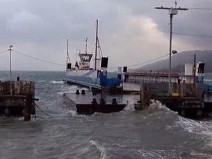 Marinha emite alerta de vento de até 60 km/h no litoral norte entre sexta e sábado