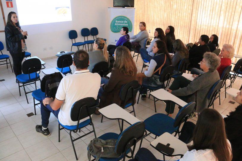 Aula do curso - Foto: Lucas Camargo/PMC