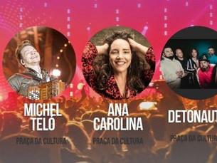 Michel Teló, Detonautas, Melim e Ana Carolina são algumas das atrações do Caraguatatuba Summer Festi