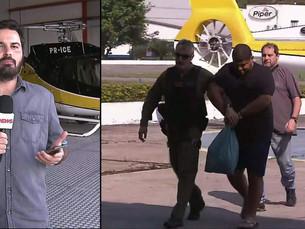 Dois helicópteros e uma lancha foram apreendidos em operação que prendeu traficante internacional