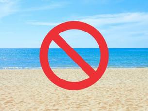 Acesso às praias de Ubatuba estará restrito durante a fase vermelha do Plano SP