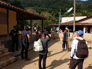 Ilha Grande recebe ações de conscientização e fiscalização