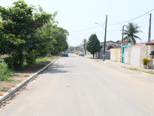 Prefeitura de Caraguatatuba realiza serviços de pavimentação no bairro Recanto do Sol