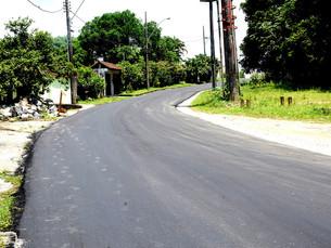 Estrada da Ponta Leste, em Angra dos Reis, recebe recapeamento asfáltico