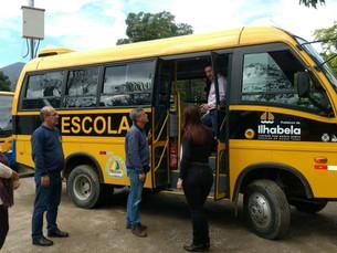 Prefeitura de Ilhabela fará entrega de novos veículos para Secretaria de Educação