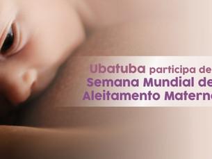Ubatuba participa de Semana Mundial de Aleitamento Materno