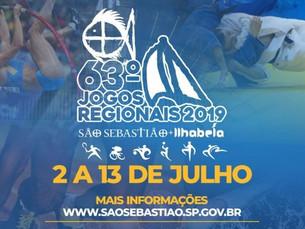 Mais de 200 atletas representam Ubatuba nos Jogos Regionais