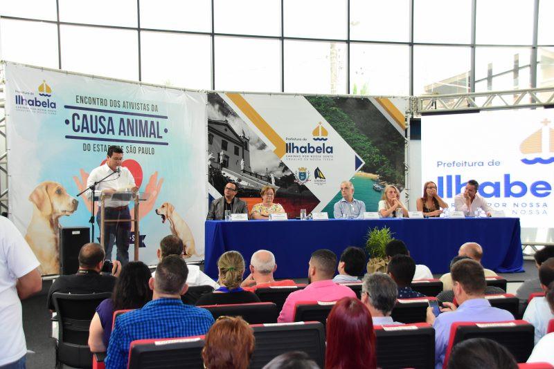 Anúncio foi feito por Márcio Tenório durante o Encontro Estadual do Ativistas da Causa Animal na última semana - Foto: Divulgação/PMI