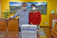 Empresário que frequenta Ilhabela faz doação de 700 seringas para vacinação contra Covid-19