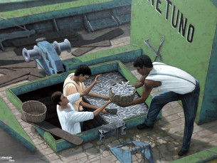 Alda de Assis e Carlos Franca apresentam exposições em Angra