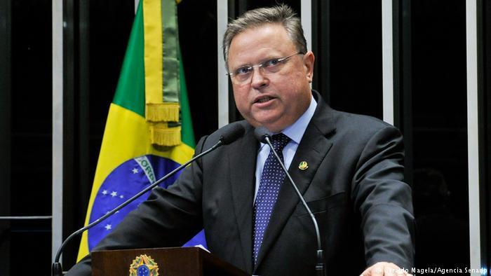 O ministro da Agricultura, Blairo Maggi, é alvo de uma denúncia por corrupção