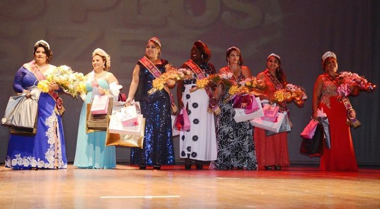 1° Miss Plus Size foi realizado no Teatro Mário Covas. (Foto: JC Curtis/Fundacc)