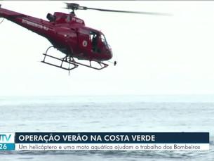 Corpo de Bombeiros inicia Operação Verão na Costa Verde