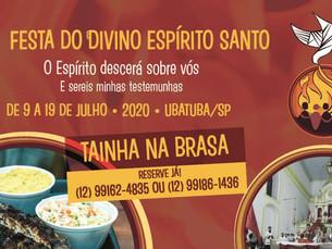 154ª Festa do Divino acontece até dia 19, em Ubatuba
