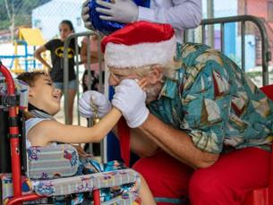 'Natal Solidário' segue com distribuição de brinquedos para as crianças de São Sebastião