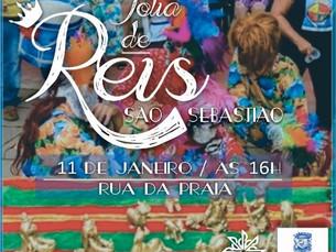 Tradicional Festa da Folia de Reis acontece neste sábado no Centro Histórico de São Sebastião