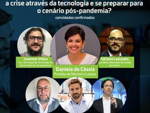 Painel online aborda investimentos das cidades do Vale do Paraíba e litoral paulista em tecnologia