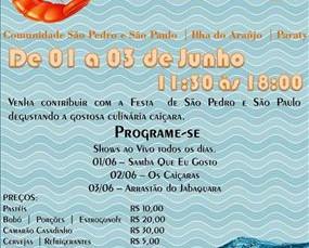 Festival do Camarão em Paraty acontece no próximo fim de semana