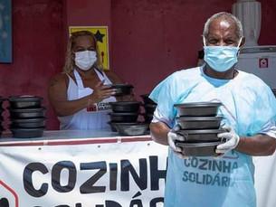 No auge da pandemia, sociedade civil se organiza contra fome